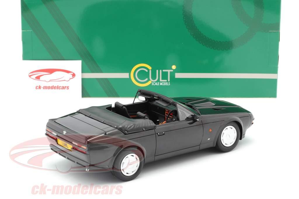 Aston Martin V8 Zagato Spyder Anno di costruzione 1987 nero metallico 1:18 Cult Scale