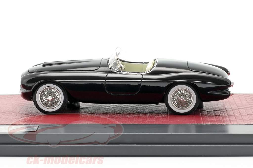 Ferrari 212/225 Inter Barchetta Touring Baujahr 1952 schwarz 1:43 Matrix