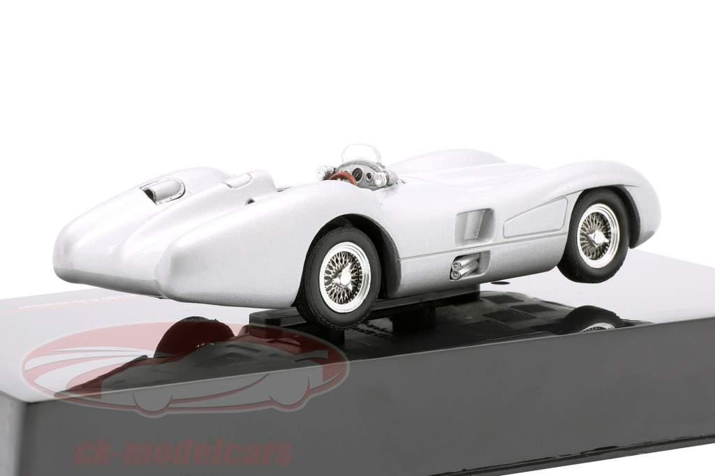 Mercedes-Benz W196 R Gestroomlijnd Bouwjaar 1954 zilver 1:43 Ixo