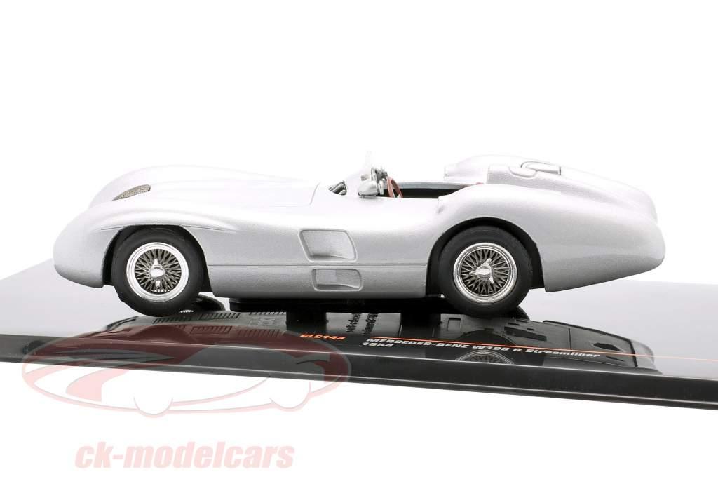 Mercedes-Benz W196 R Stromlinie Baujahr 1954 silber 1:43 Ixo