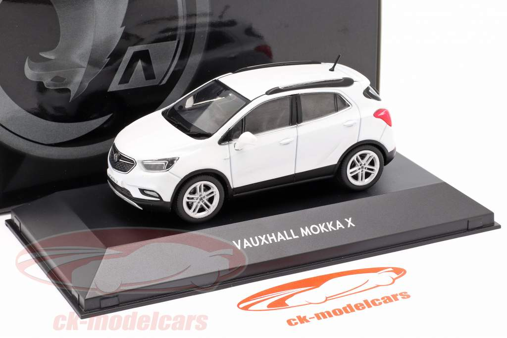 Vauxhall (Opel) Mokka X abalone weiß 1:43 iScale