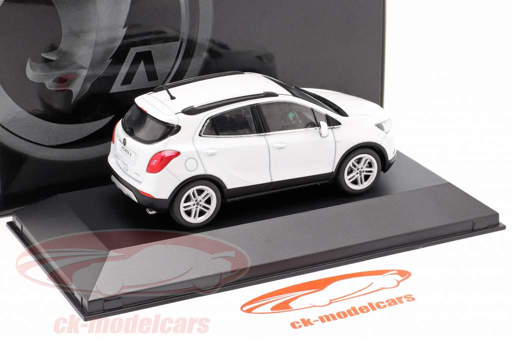 Vauxhall (Opel) Mokka X abalone blanc 1:43 iScale
