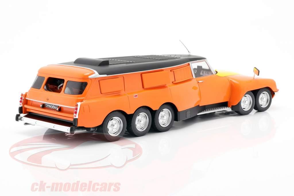 Michelin Mille Pattes PLR Break 1972 Orange / Jaune / noir 1:18 CMR