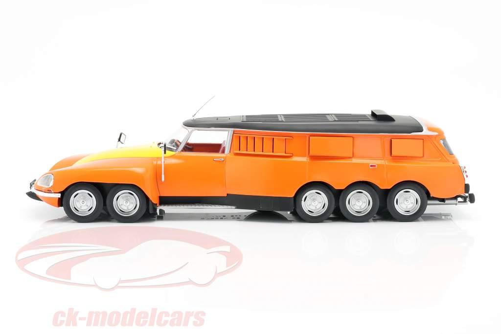 Michelin Mille Pattes PLR Break 1972 arancia / giallo / nero 1:18 CMR