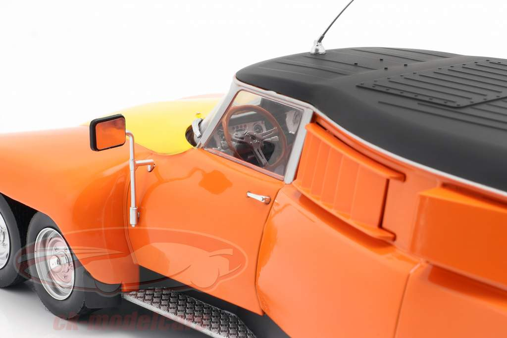 Michelin Mille Pattes PLR Break 1972 laranja / amarelo / Preto 1:18 CMR