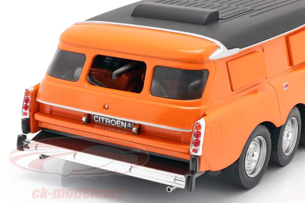 Michelin Mille Pattes PLR Break 1972 naranja / amarillo / negro 1:18 CMR