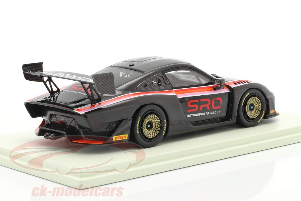 Porsche 935/19 SRO black / red / orange / pink 1:43 Spark