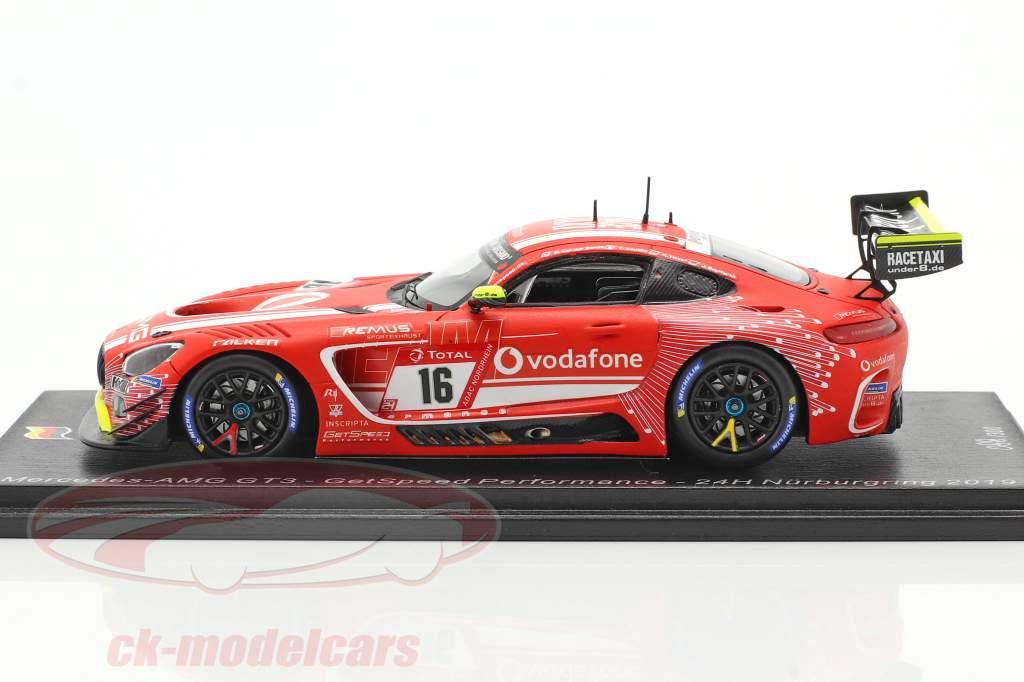 Mercedes-Benz AMG GT3 #16 24h Nürburgring 2019 GetSpeed Performance 1:43 Spark