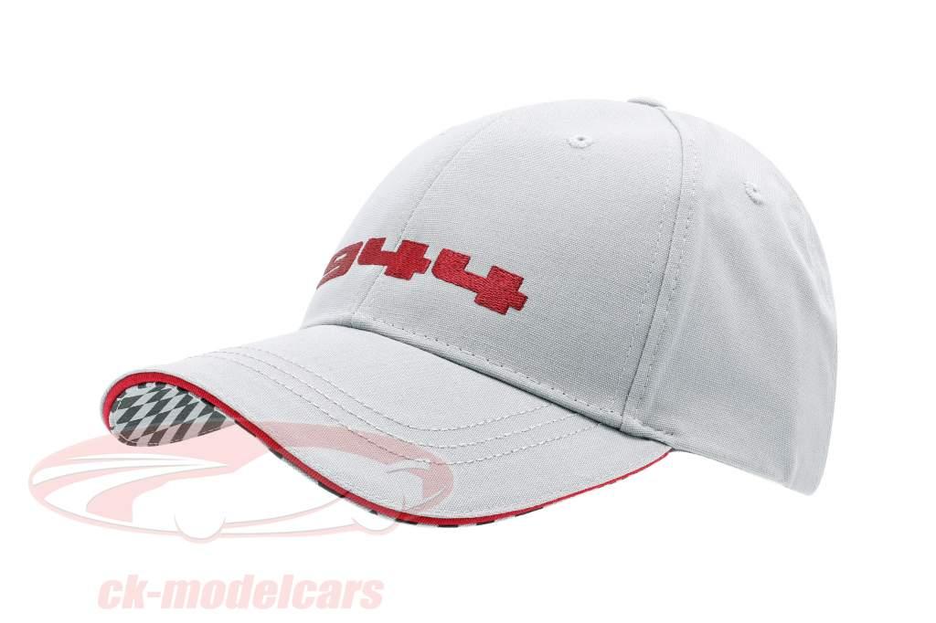 Porsche 944 Baseball-Cap gris / rouge