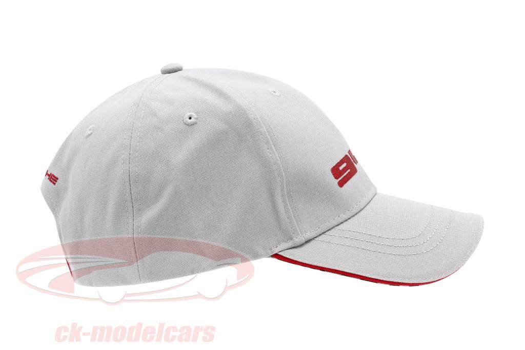 Porsche 944 Baseball-Cap Grijs / rood