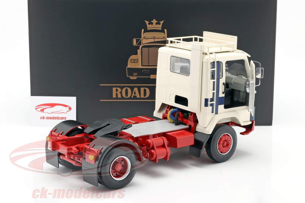 Volvo F88 Camion Polar Express 1965 bianca / blu / rosso 1:18 Road Kings