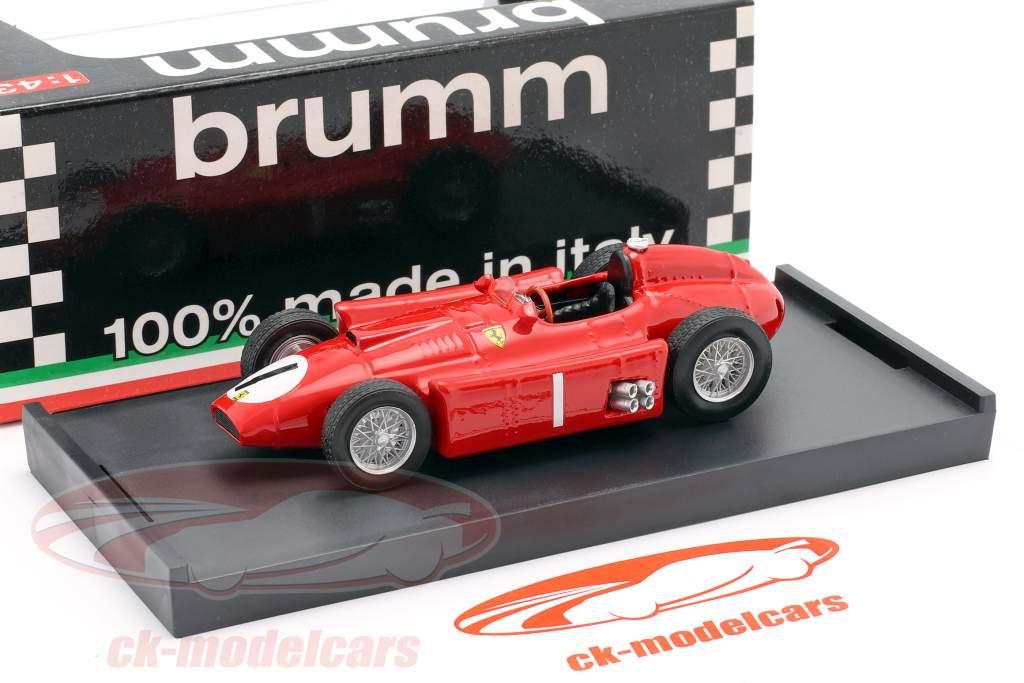 J.M. Fangio FerrariD50 #1 GP Großbritannien F1 1956 1:43 Brumm