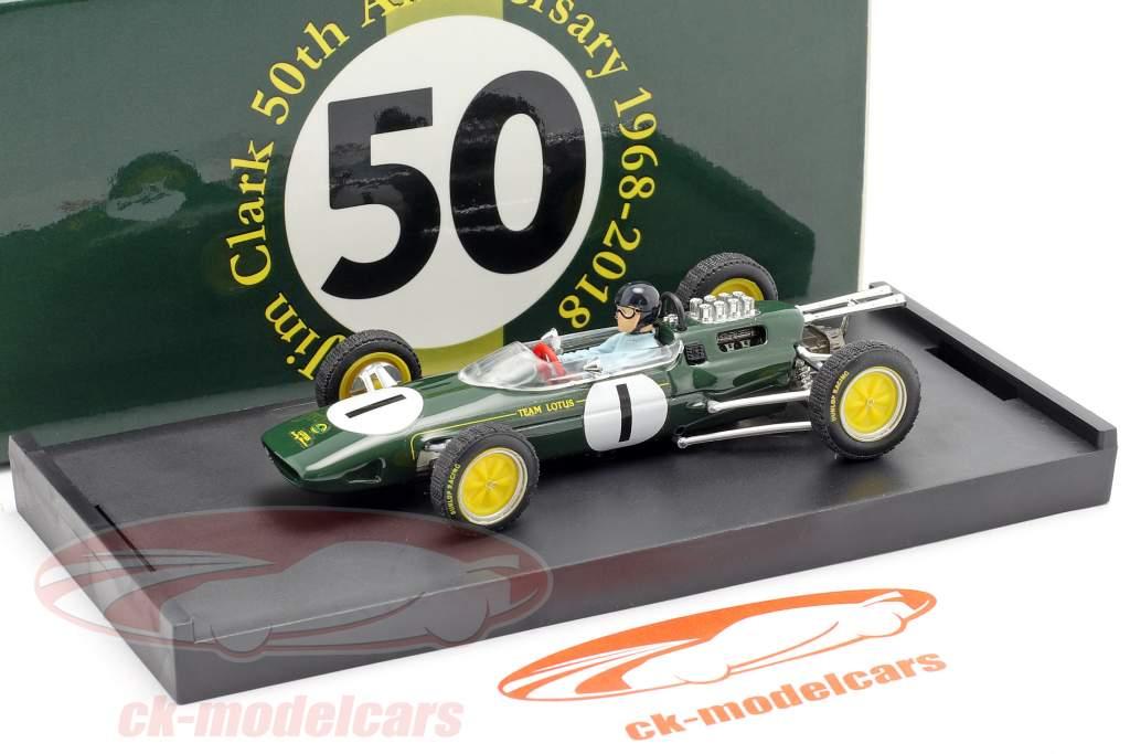 Jim Clark Lotus 25 #1 Weltmeister Belgien GP Formel 1 1963 1:43 Brumm
