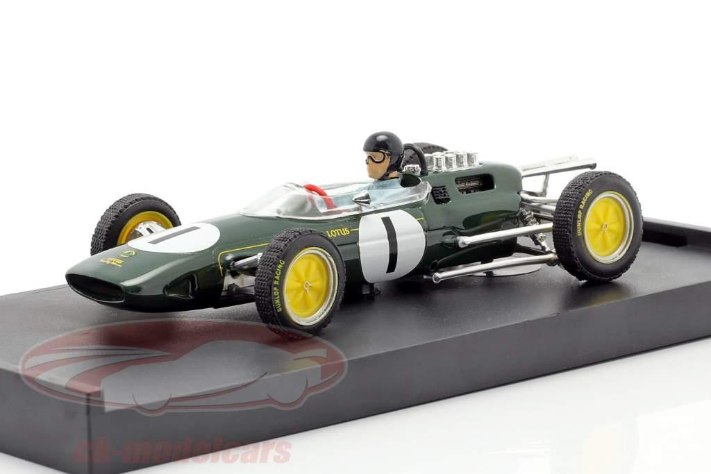 Jim Clark Lotus 25 #1 Campeón mundial Bélgica GP fórmula 1 1963 1:43 Brumm
