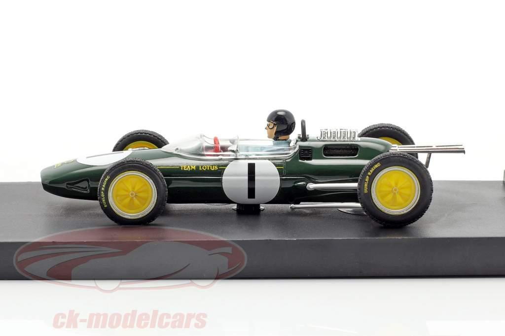Jim Clark Lotus 25 #1 Campione del mondo Belgio GP formula 1 1963 1:43 Brumm