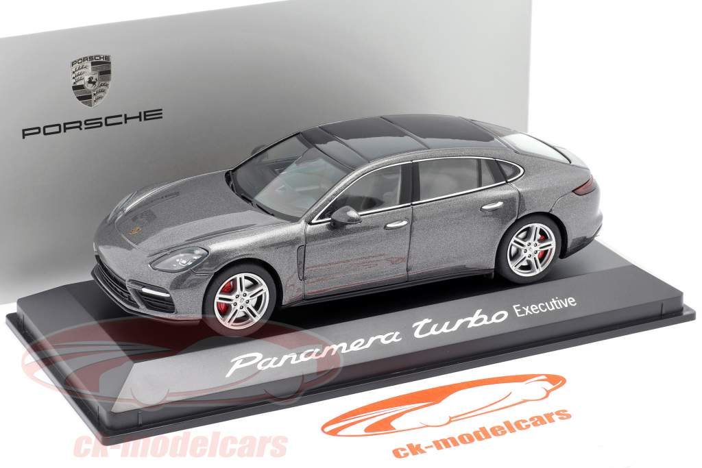 Porsche Panamera Turbo (2. Gen.) Executive agat Grå metallisk 1:43 Herpa