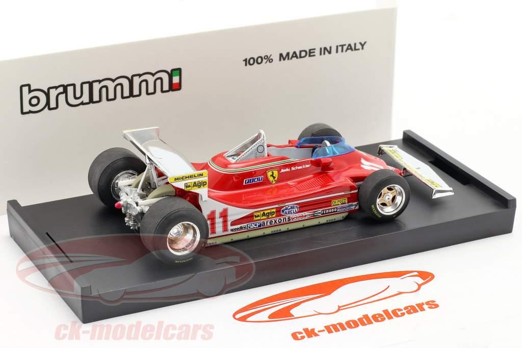 Jody Scheckter Ferrari 312 T4 #11 Weltmeister GP Monaco Formel 1 1979 1:43 Brumm