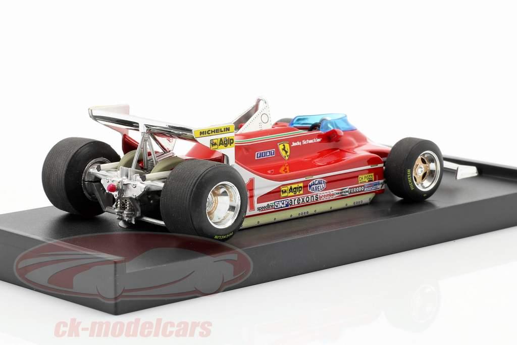 Jody Scheckter Ferrari 312 T4 #11 Wereldkampioen GP Monaco Formula 1 1979 1:43 Brumm