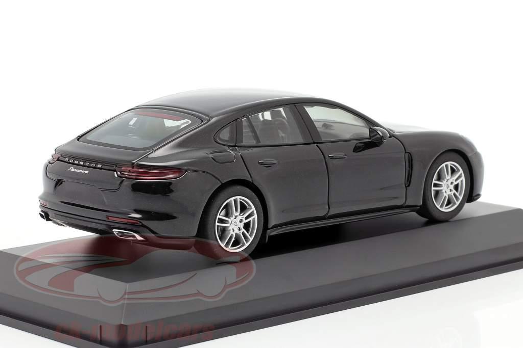 Porsche Panamera (2. Gen.) Ano 2017 Preto metálico 1:43 Herpa