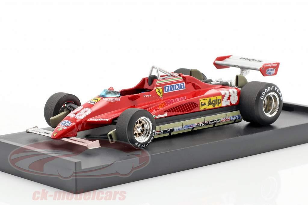 Didier Pironi Ferrari 126C2 #28 Vincitore San Marino GP Formula 1 1982 1:43 Brumm