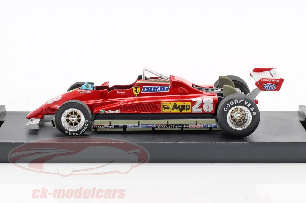 Didier Pironi Ferrari 126C2 #28 Vinder San Marino GP Formel 1 1982 1:43 Brumm