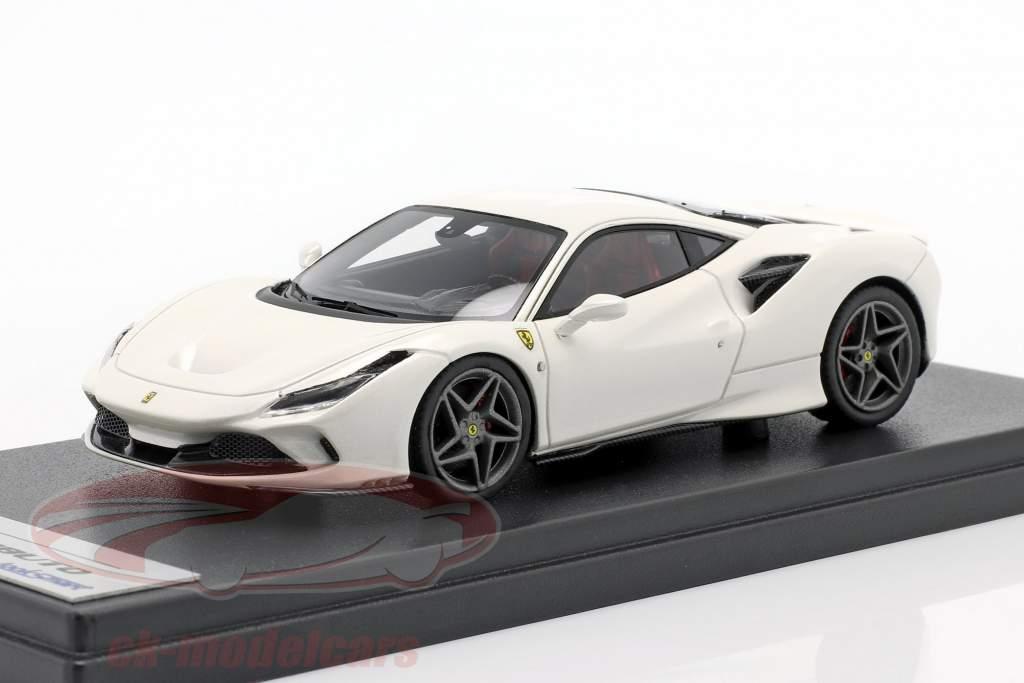 Ferrari F8 Tributo Année de construction 2019 fuji blanc 1:43 LookSmart