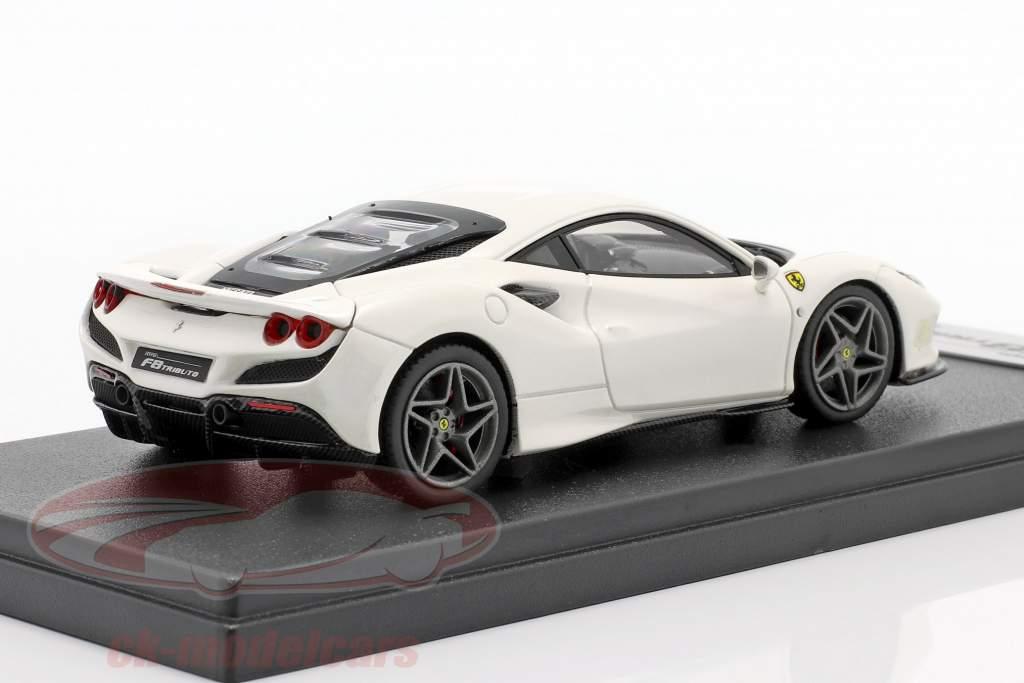 Ferrari F8 Tributo Baujahr 2019 fuji weiß 1:43 LookSmart