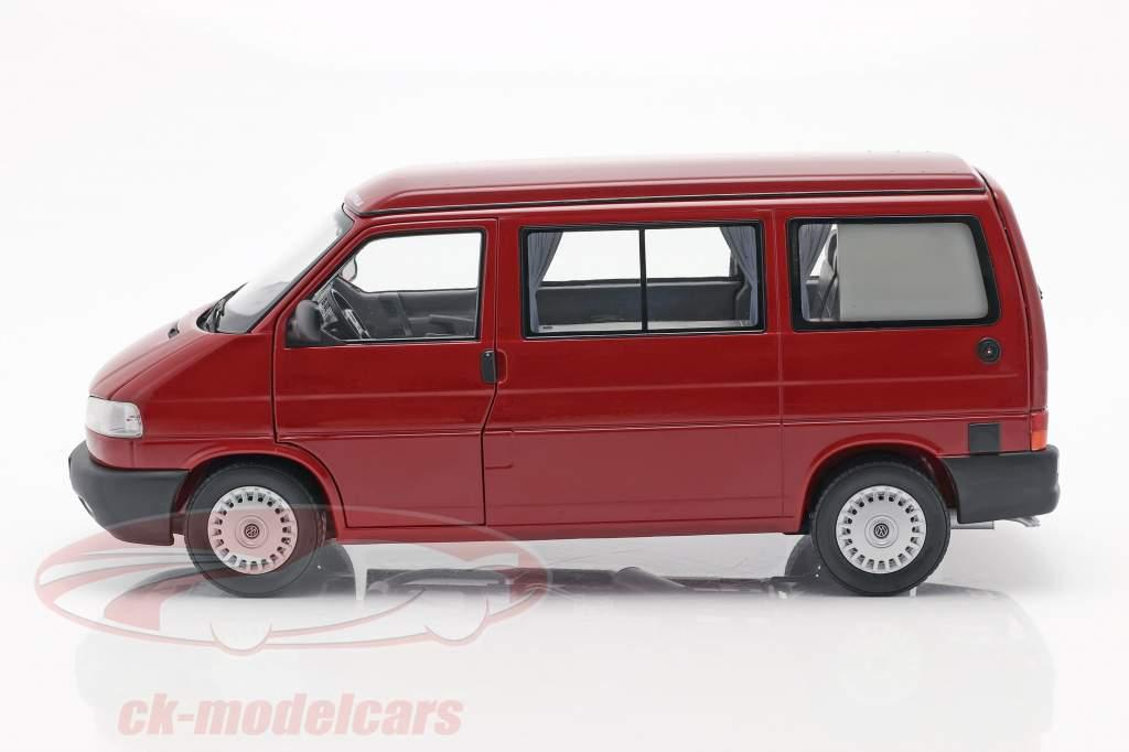 Volkswagen VW T4b Westfalia campeur rouge 1:18 Schuco
