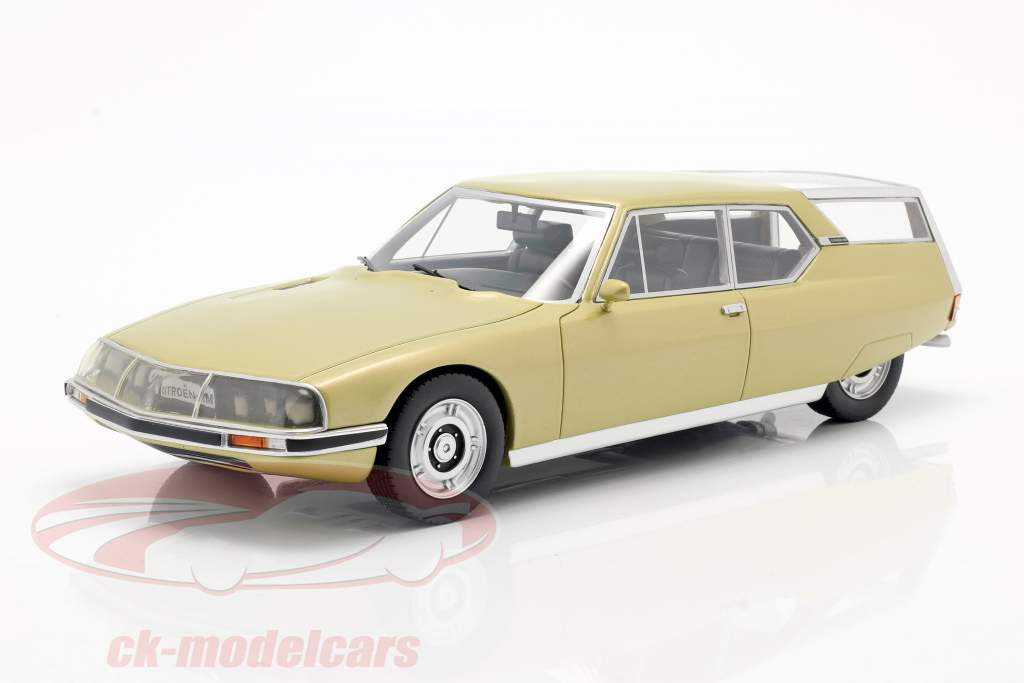Citroen SM Shooting Brake oro metálico 1:18 Schuco