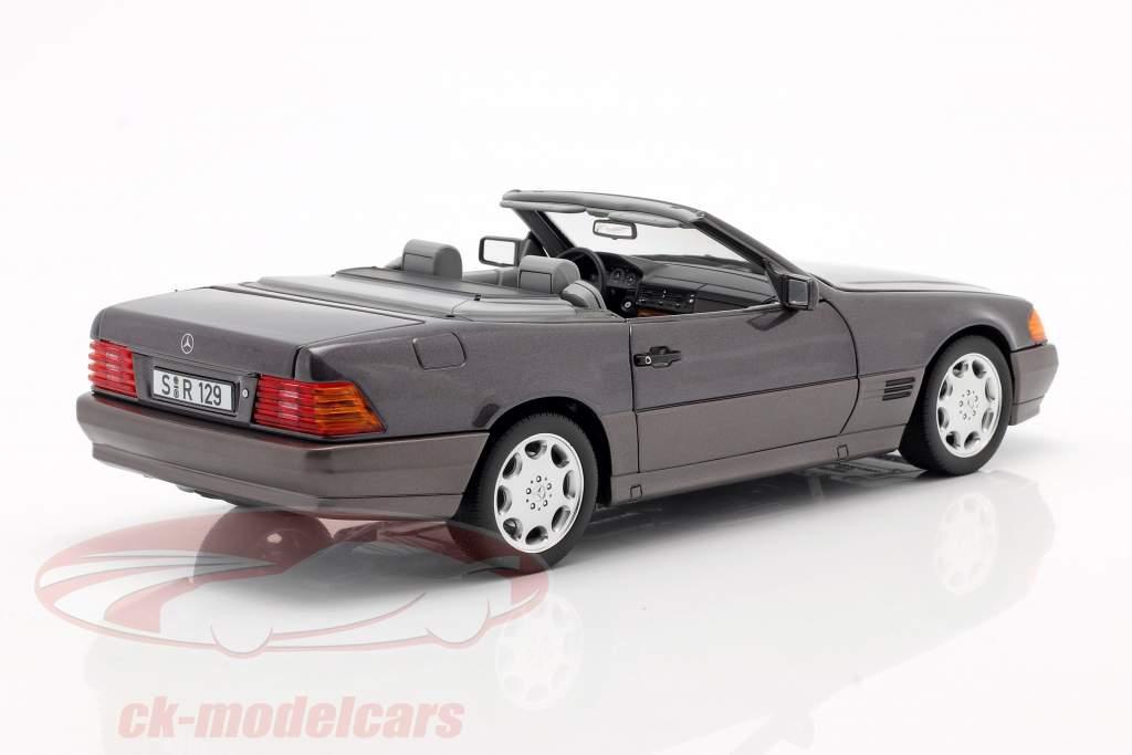 Mercedes-Benz 500 SL (R129) Roadster 1989-1995 bornit metallic 1:18 Norev