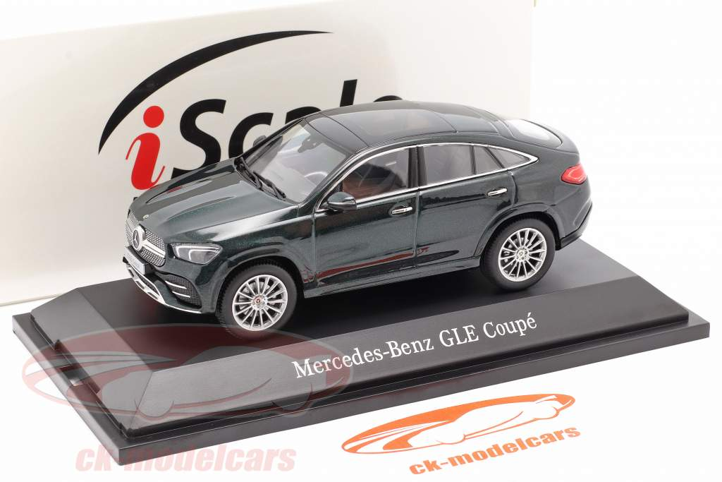 Mercedes-Benz GLE Coupe (C167) 2020 smaragd grøn metallisk 1:43 iScale