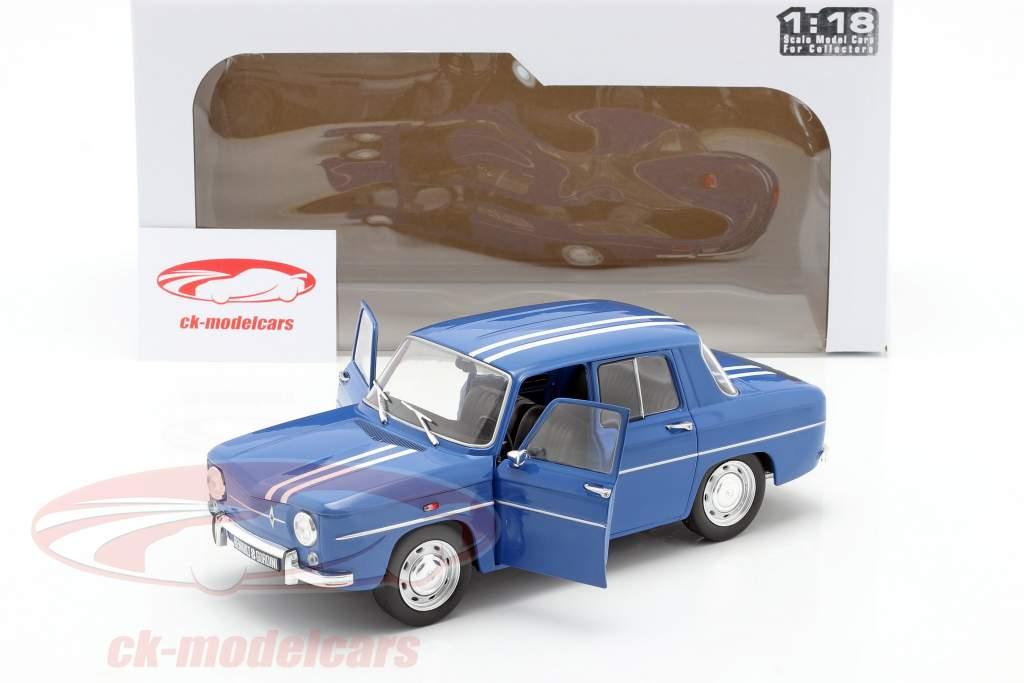 Renault 8 Gordini 1100 Byggeår 1967 blå 1:18 Solido