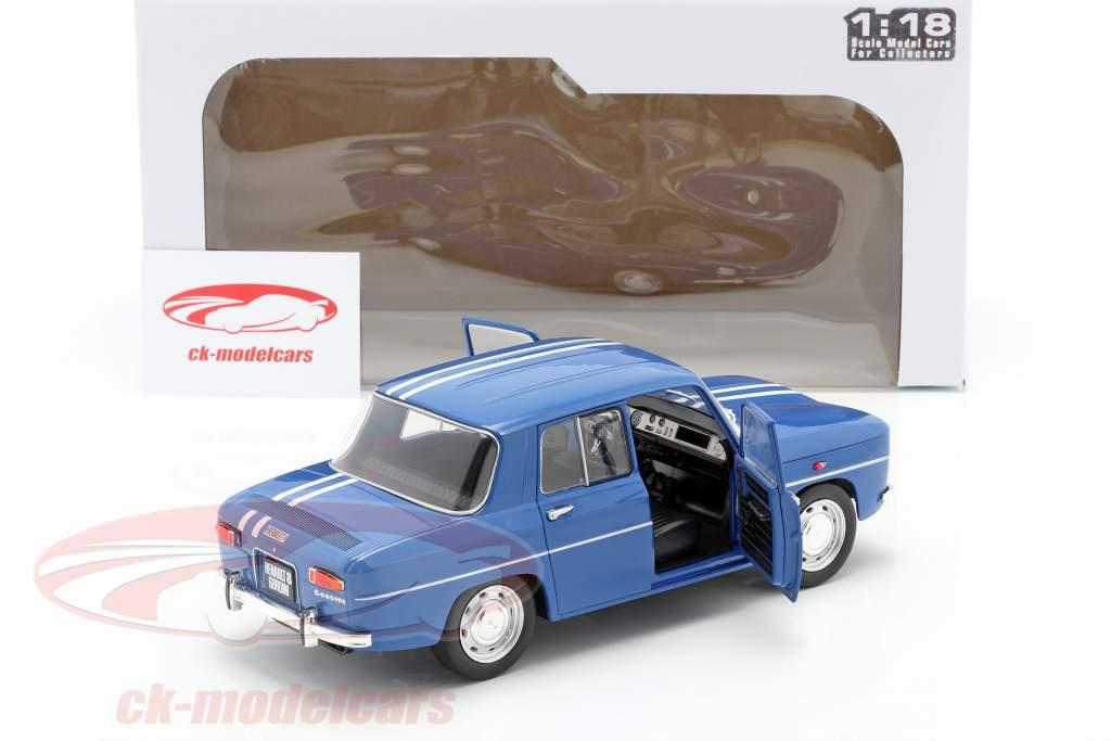 Renault 8 Gordini 1100 Baujahr 1967 blau 1:18 Solido