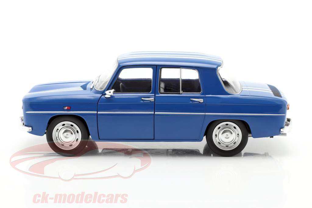 Renault 8 Gordini 1100 Ano de construção 1967 azul 1:18 Solido