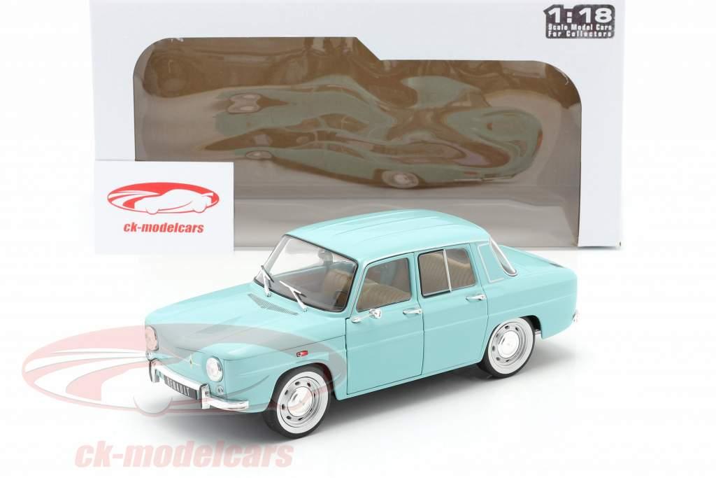 Renault 8 Major Anno di costruzione 1967 luce blu 1:18 Solido