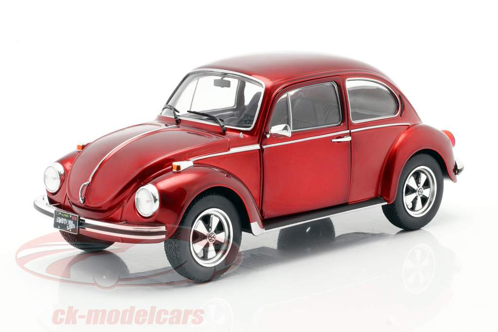 Volkswagen VW Beetle 1303 year 1974 custom red 1:18 Solido