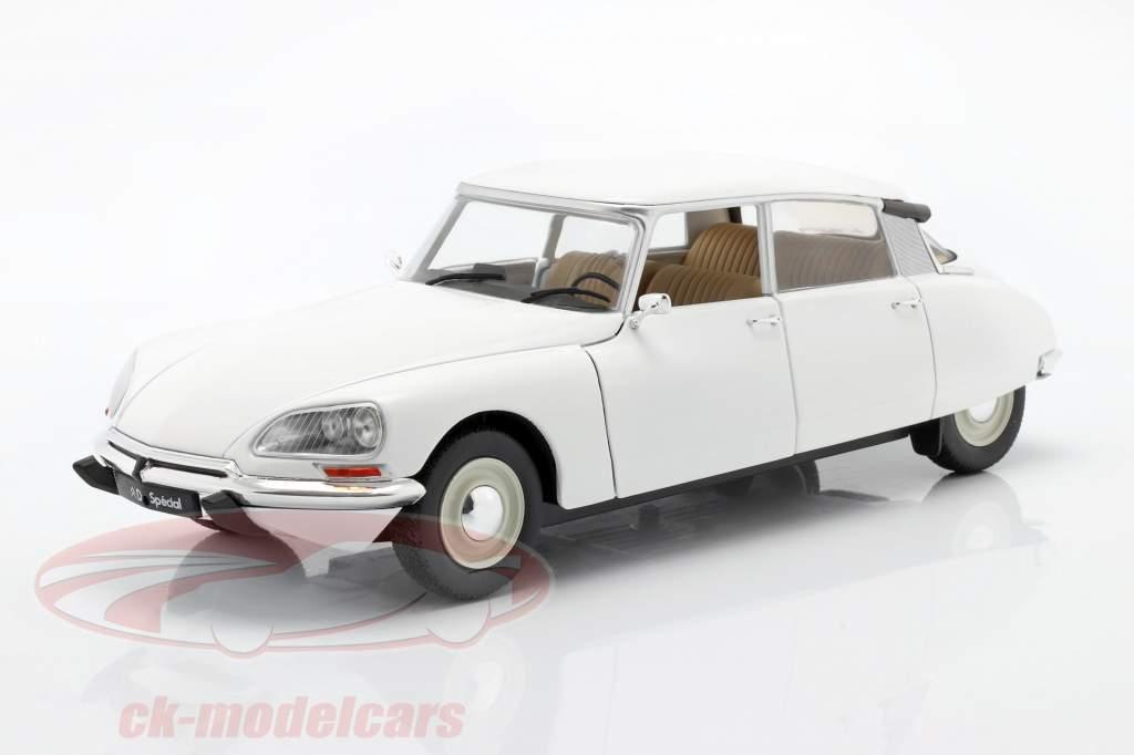 Citroen DS Año de construcción 1972 Blanco 1:18 Solido