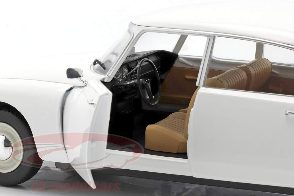 Citroen DS Byggeår 1972 hvid 1:18 Solido