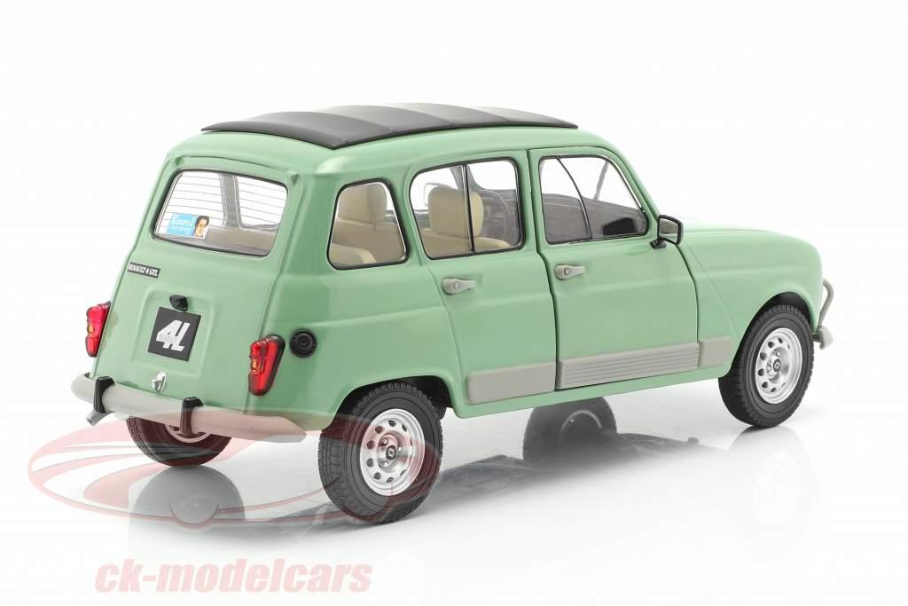 Renault 4L GTL Baujahr 1978 celadon grün 1:18 Solido