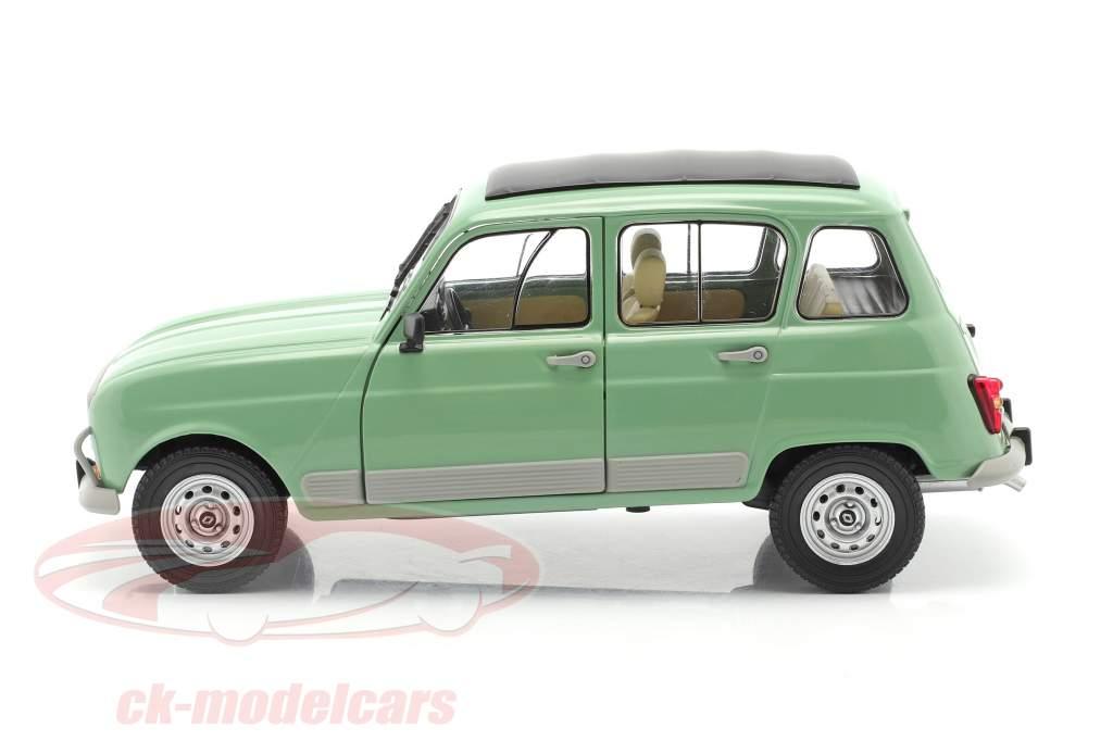 Renault 4L GTL Byggeår 1978 celadon grøn 1:18 Solido