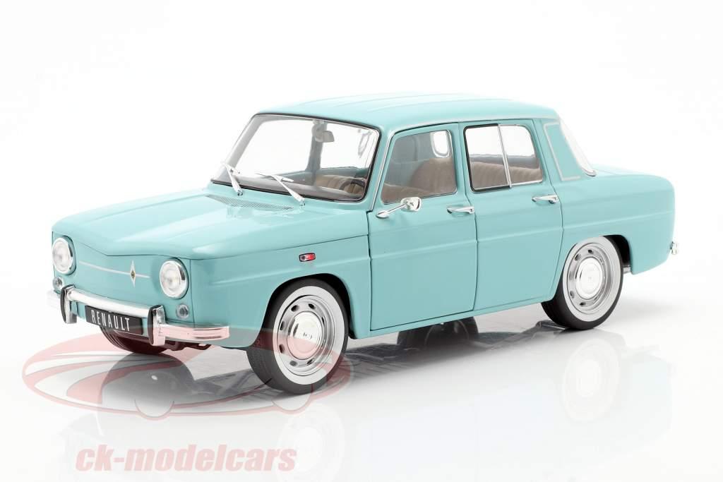 Renault 8 Major Bouwjaar 1967 licht blauw 1:18 Solido