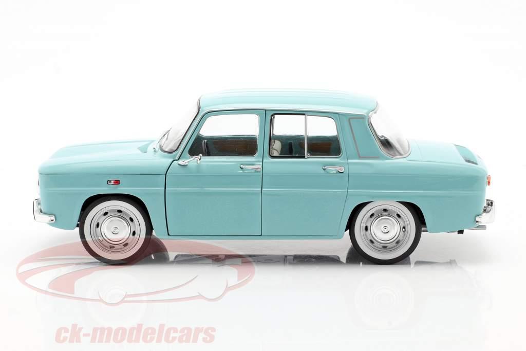 Renault 8 Major Año de construcción 1967 ligero azul 1:18 Solido