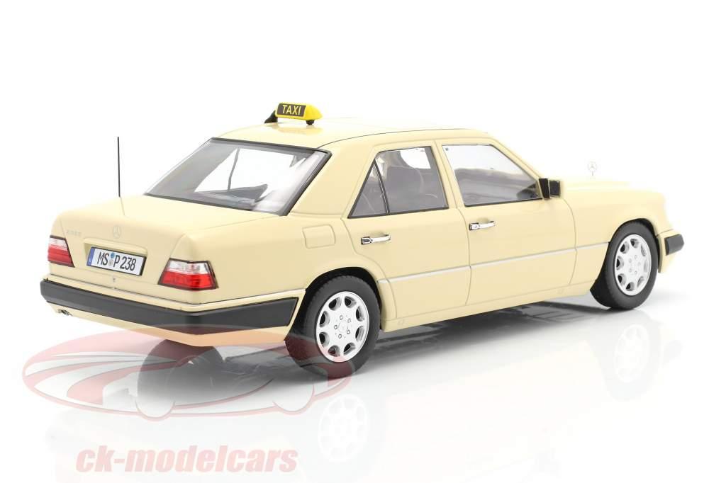 Mercedes-Benz Clase E (W124) Año de construcción 1989 Taxi 1:18 iScale