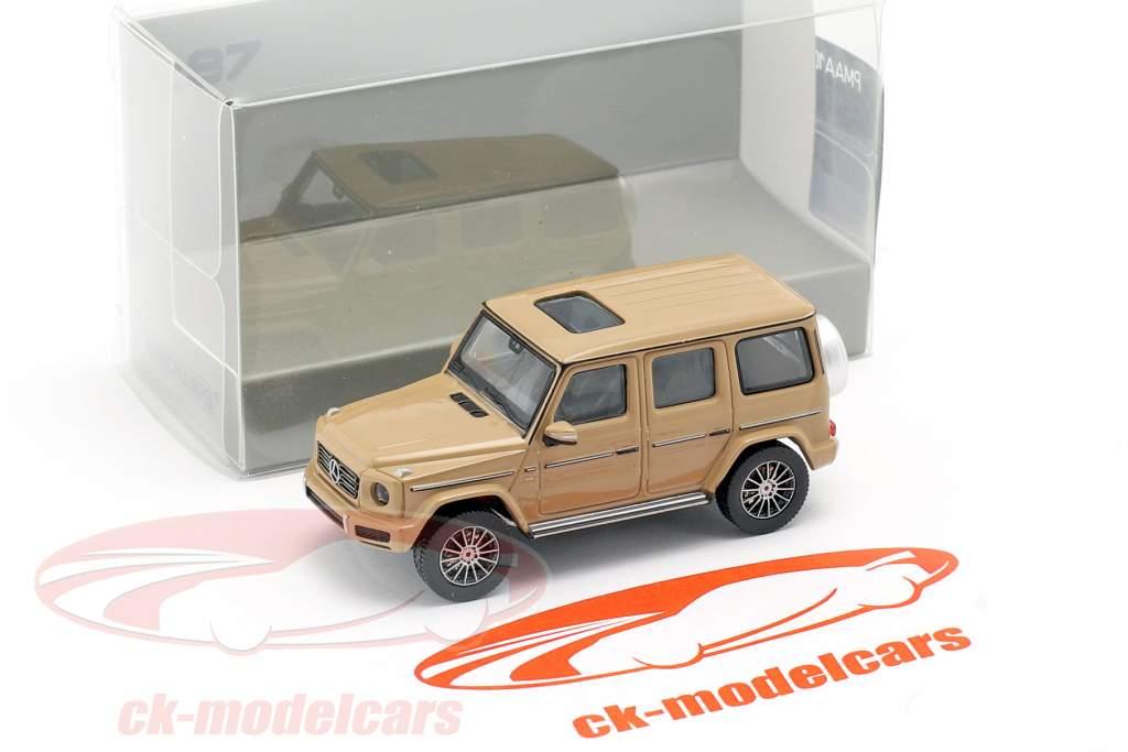 Mercedes-Benz Classe G. (W463) Anno di costruzione 2018 sabbia beige 1:87 Minichamps