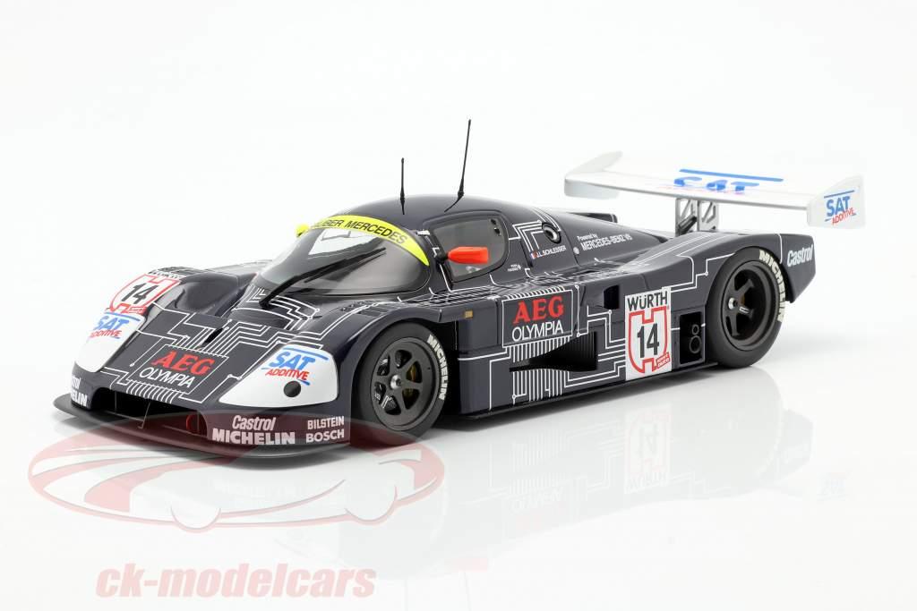 Sauber-Mercedes C9 #14 Sieger Supercup 1988 J.-L. Schlesser 1:18 Minichamps