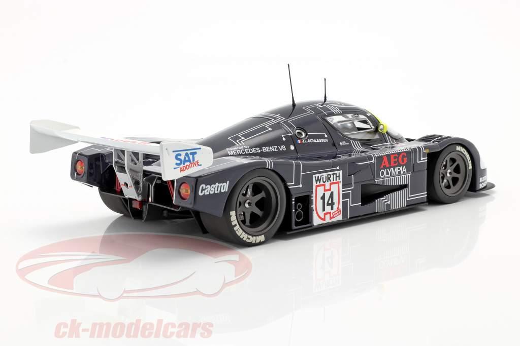 Sauber-Mercedes C9 #14 Vinder Supercup 1988 J.-L. Schlesser 1:18 Minichamps