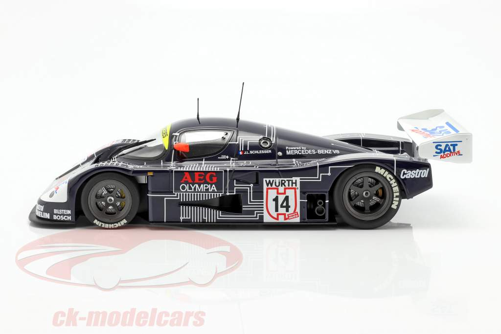 Sauber-Mercedes C9 #14 Vincitore Supercup 1988 J.-L. Schlesser 1:18 Minichamps