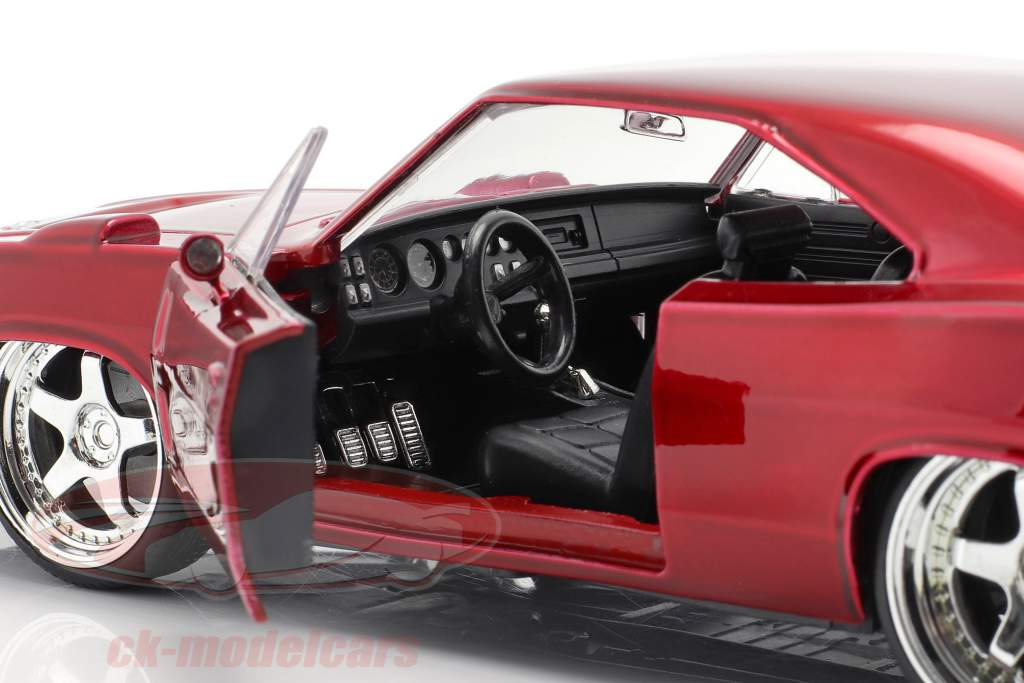 Dodge Charger Daytona 年 1969 Fast and Furious 6 2013 赤 1:24 Jada Toys