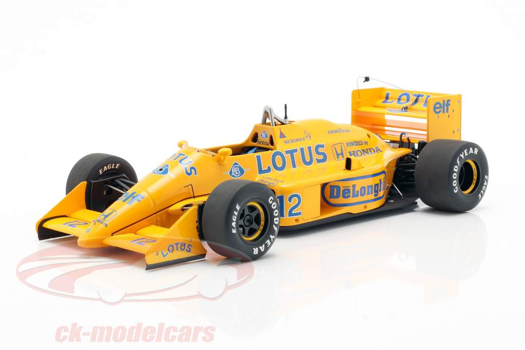 Ayrton Senna Lotus 99T #12 2º Japón GP fórmula 1 1987 1:18 AUTOart
