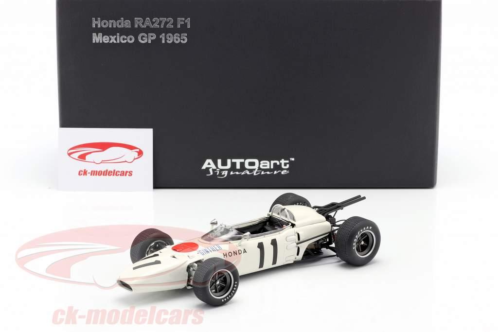 Richie Ginther Honda RA272 #11 Winner GP Mexico Formel 1 1965 1:18 AUTOart